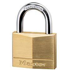 Master Lock 40mm Wide Solid Brass Body Padlock