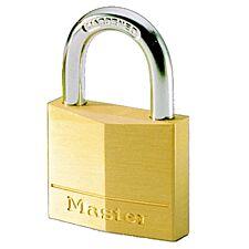 Master Lock 30mm Wide Solid Brass Body Padlock