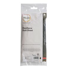 Harris Essentials Dust Sheet - 3.7m x 3.7m