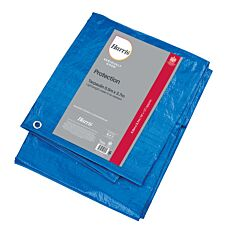 Harris Seriously Good Tarpaulin - 5.5m x 3.7m - Blue