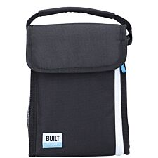 Built Lunch Bag with Removable Ice Gel Pack Black - Small