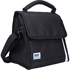 Built Lunch Bag with Removable Ice Gel Pack Black - Medium