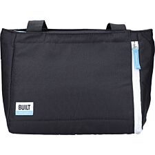 Built Lunch Tote with Removable Ice Gel Pack - Black