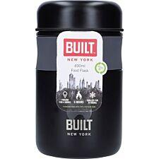 Built Professional 490ml Food Flask - Black