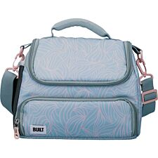 Built Mindful 6 Litre Lunch Bag with Storage Compartment - Pastel