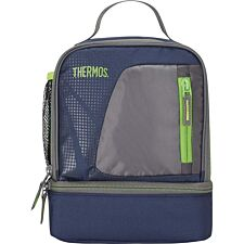 Thermos Radiance Large Dual Lunch Box - Navy Blue