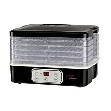 Cooks Professional G0199 240W Food Dehydrator – Black & White