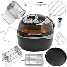 Cooks Professional V2 Rotisserie Air Fryer with Accessories Pack - Black/Grey