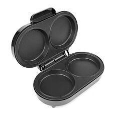 Salter XL Twin Omelette Maker - Black & Silver