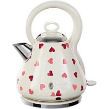 Russell Hobbs 28330 Emma Bridgewater Pink Hearts 1.7L Kettle – Cream & Pink