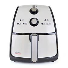 Lloytron E6702WI KitchenPerfected 1500W 4L Air Fryer - Ivory White