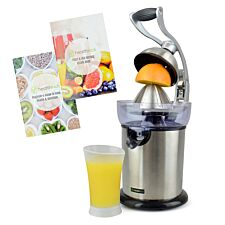 Health Kick K3101 130W Citrus Fruit Juicing Press – Black & Silver