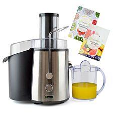 Health Kick K3151 850W Fruit & Veg Juice Extractor – Black & Silver