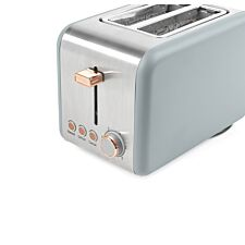 Salter EK2652GRG 850W 2–Slice Toaster – Grey & Rose Gold