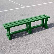 NBB Recycled Plastic Backless 150cm Bench - Green