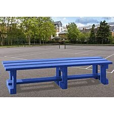 NBB Recycled Plastic Backless 200cm Bench - Blue