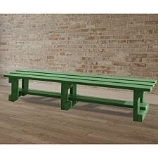NBB Recycled Plastic Backless 200cm Bench - Green
