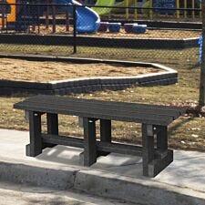 NBB Junior Recycled Plastic 90cm Backless Bench - Black