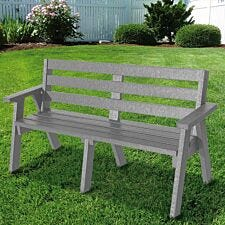 NBB Recycled Plastic Captain's Seat - Grey