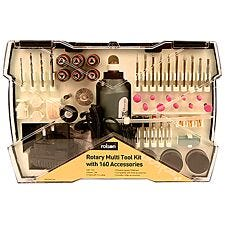 Rolson Rotary Multi Tool Kit with 160 Accessories