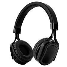 AKAI Touch Control Bluetooth Headphones with TF Card Slot - Black