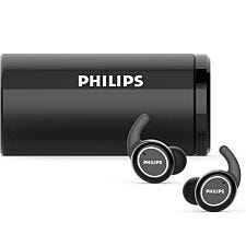 Philips Action Fit Sports True Wireless Headphones with IPX4 Water Resistance - Black