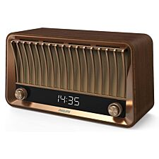 Philips Vintage Design Bluetooth DAB+ Radio  with 20W RMS Stereo - Brown