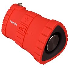 Toshiba TY-WSP100 Portable Waterproof Bluetooth Speaker - Red
