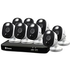 Swann Smart 8 Camera 8 Channel DVR CCTV Security System
