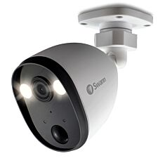 Swann Smart Wi-Fi Spotlight CCTV Security Camera with Sensor Lighting