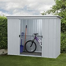 Yardmaster Store-All Metal Pent Shed