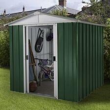 Yardmaster Emerald No Floor Metal Apex Shed 6 x 4.5ft