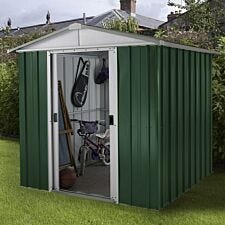 Yardmaster Emerald No Floor Metal Apex Shed 6 x 6ft