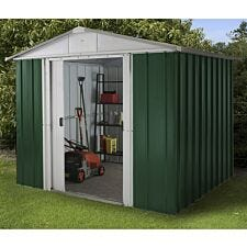 Yardmaster Emerald No Floor Metal Apex Shed 8 x 7ft