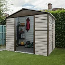 Yardmaster Shiplap Metal Shed with Floor Support Frame