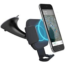 Cygnett Race Wireless 10W Smartphone Car Charger and Mount + QC 3.0 Car Charger