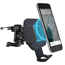 Cygnett Race Wireless 10W Smartphone Car Charger Vent Mount + QC 3.0 Car Charger