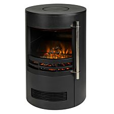 Zanussi 2kW Electric Stove Inset Fire Black