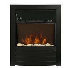 Zanussi 2kW Black Electric Inset Fire