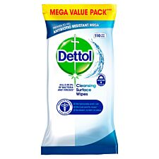 Dettol Surface Cleanser Wipes - Pack of 110