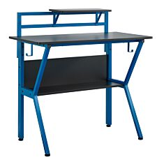 Rogue Gaming Desk - Black and Blue