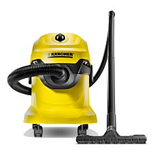 Karcher WD 4 Wet & Dry Vacuum Cleaner - Yellow & Black