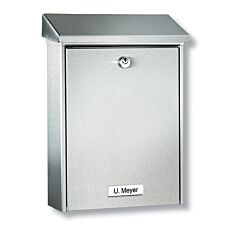 Burg-Wachter Hannover  Post Box - Stainless Steel