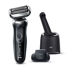 Braun Series 7 Electric Shaver for Men - Black