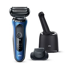 Braun Series 6 Electric Shaver for Men - Blue
