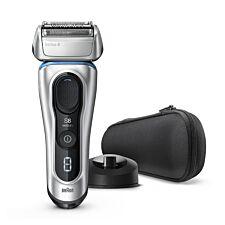 Braun BRA8350S Series 8 Next Generation Electric Shaver – Silver