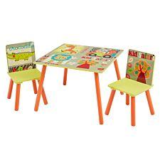 Liberty House Toys Kid Safari Table and Chair Set