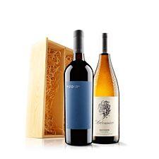 Virgin Wines Classic Duo In Wooden Gift Box
