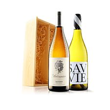 Virgin Wines Classic White Duo In Gift Box