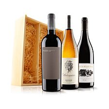 Virgin Wines Classic Mixed Trio In Wooden Gift Box
